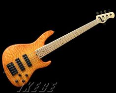 """Sadowsky NYC Standard 5st/24F """"Quilted Maple Top, Caramel Burst"""""""