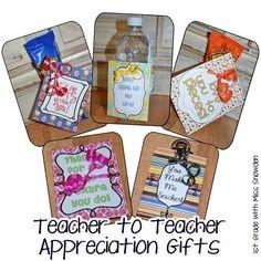 Teacher to Teacher gifts :)