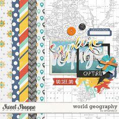 Free Mini Kit from Amanda Yi {DigiScrap Parade August 2015: World Geography 101}