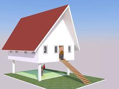 Dalam mengerjakan site plan kami juga memberikan usulan konsep unit, berikut adalah salah satu usulan disain yang kemudian diwujudkan di lap... Park, Parks