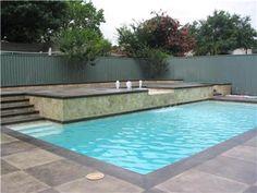 Nice pool decking design!