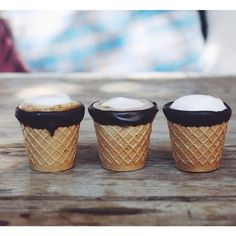 LAのカフェ「Alfred Coffee & Kitchen」で発売されたこちらのコーヒー。なんとカップの部分がワッフルコーンで出来ていて、全て食べる事ができます!縁取られたチョコレートも一緒に食べたら美味しそうです♡そして、このコーヒーカップが、まさに夢のようだと全米で話題になっています!