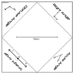 Perimeter, Area, Volume Foldable Graphic Organizer