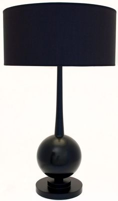 R V Astley Asia Table Lamp #TableLamp #Lamp #BlackLampTable This Black finish Asia Table Lamp is a popular lamp for designers and retailers alike. with its dramatic an sculptural silhouette it adds real style to any room. *Bulbfitting: SES / E14 *Wattage : 40w *Shade : Included  Dimensions W 45cm x H 73cm