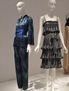 Yves Saint Laurent + Halston: Fashioning the 70s