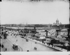 Вид Петербурга с Васильевского острова, 1900-е 1900-01-01 - 1909-12-31, г. Санкт-Петербург
