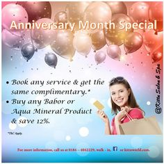 Anniversary Month Special