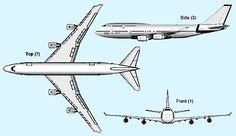 самолет рисунок чертеж - Поиск в Google