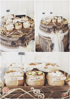 Marianna and Massimo's Style Italian Wedding. By Stefano Santucci Italian Wedding Favors, Sweet Wedding Favors, Tuscan Wedding, Boho Wedding, Rustic Wedding, Wedding Beach, Cake Table, Dessert Table, Shabby Chic Cakes