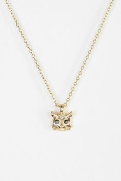 Little Kitten Charm Necklace #urbanoutfitters