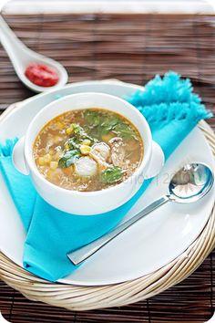 Binte Biluhuta (Milu Siram - Gorontalo Corn Soup). One of my have soups #acmi #indonesianfood