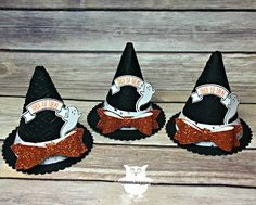 Dani's Thoughtful Corner: Mini Witches Hat Tutorial