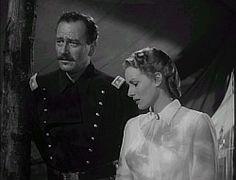 John Wayne and Maureen O'Hara    'Rio Grande' is a Western adventure movie, made in 1950, directed by John Ford and starring John Wayne and Maureen O'Hara