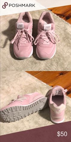 outlet store d9479 4be59 New balance 574 Pink new balance size Never worn before New Balance Shoes  Sneakers