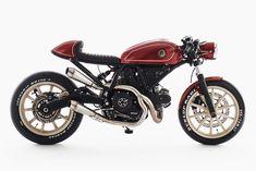 """Rumble Ducati Scrambler Cafe Racer by Eastern Spirit Garage Ducati Cafe Racer, Ducati Scrambler Sixty2, Yamaha, Cafe Racers, Scrambler Motorcycle, Moto Ducati, Royal Enfield Bullet, Cafe Racer Girl, Cafe Racer Build"