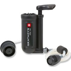 The field-maintainable Katadyn Hiker PRO water filter is easy to use and includes handy features such as quick-connect fittings to make filtering water a cinch. Available at REI, 100% Satisfaction Guaranteed.
