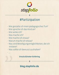 How can I enable children to participate? - Partizipation Kinder in Kita /Kindergarten - Bildung Reciprocal Reading, Things That Bounce, Things To Think About, Kindergarten Portfolio, Foster Baby, Life Guide, Losing A Child, Niece And Nephew, Early Education