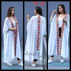 Abaya Fashion, Muslim Fashion, Modest Fashion, Fashion Dresses, Stylish Dresses For Girls, Stylish Clothes For Women, Mode Abaya, Mode Hijab, Kaftan Designs