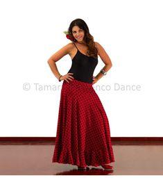 faldas flamencas para mujer - -