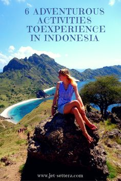 6 Adventurous Activities You Must Try in Indonesia are orangutan watching in Borneo, scuba-diving in Wakatobi, hiking Padar Island in Komodo, surfing and other water activities in Bali, bat watching over Kalong Island. via @jetsettera7