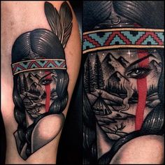 Native American Tattoos, Native Tattoos, Native American Women, American History, Western Tattoos, Woman Sketch, Woman Drawing, American Indian Names, American Symbols