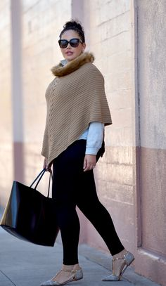 Plus Size Fashion - Girl with Curves - Cold Snap