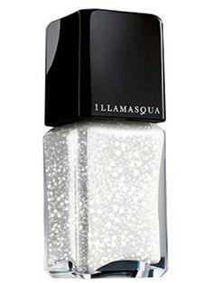 snow glitter nail polish