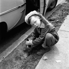 Vivian Maier, black and white Undated, Vancouver, Canada