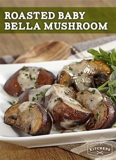 Roasted Baby Bella Mushrooms: Add the perfect kick to baby bella ...