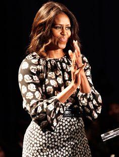 Michelle Obama Wore Two Diane von Furstenberg Outfits in One Week!
