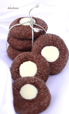 dolce forno: Fossette golose Dolce, Italian Recipes, Cookies, Chocolate, Desserts, Oven, Crack Crackers, Tailgate Desserts, Deserts