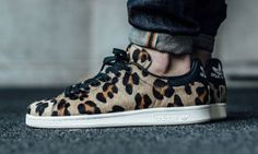 The adidas Stan Smith Receives the Leopard Pony Hair Treatment
