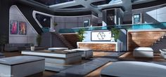 HavoccDesign — Space Station Lobby