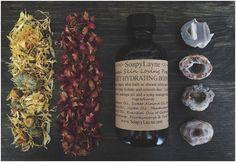 BODY OIL sweet hydrating herbal body oil 4oz. by SoapyLayne, $15.00