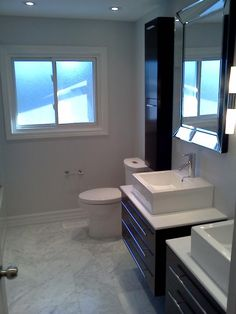 Gallery Website Modern bathroom reno Contact us at fcconstruction ca for all of your