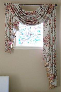 La Traviata Pole Swag Valance with Uneven Tails Get ready to be stunned by this gorgeous pole swag valance with uneven tails. The large pink bouquet pattern is woven in the middle surrounded by brown curvy vines. It will be a perfect addition for your living room, lounge or bedroom. http://www.celuce.com/p/176/la-traviata-pole-swag-valance-with-uneven-tails