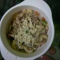 Resep Mpasi 10 Bulan Makaroni Daging Saus Keju Oleh Mama Fathan Resep Makaroni Daging Saus