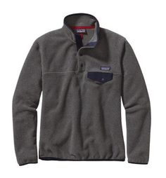 Patagonia Women's Lightweight Synchilla® Snap-T® Fleece Pullover - Nickel/Navy