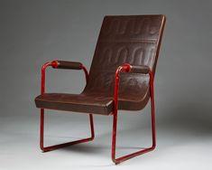 Armchair designed by Axel-Einar Hjorth for NK, — Modernity