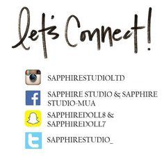 Let's connect!! Add us on our social media pages to stay up to date on our recent work giveaways tutorials makeup tips and behind the scene action! _______________________________________________________ Snapchat: sapphiredoll8 & mon_b8 For inquiries please email us at sapphirestudioinquiry@gmail.com  _______________________________________________________  #sapphirestudioltd  #indianmakeup #makeupartist #indianbridal  #wakeupmakeup #yycmakeupartist #yycweddings #bridal_dreams…