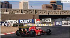 Alain Prost in Phoenix, Az - USA 1991