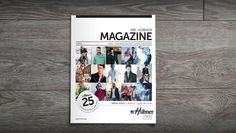 Layout and editorial work on a Danish men's fashion magazine. Client: Mr. Hübner