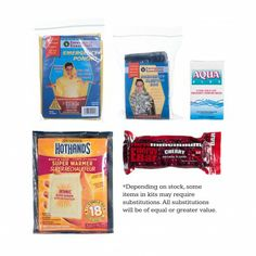 Prepare your child for an emergency at school. Shield School Emergency Kit--$7.50