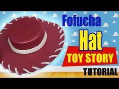 Cómo hacer sombrero de vaquero en foami para disfraz halloween de Woody Toy  Story Disney Pixar ecc3cb947a4