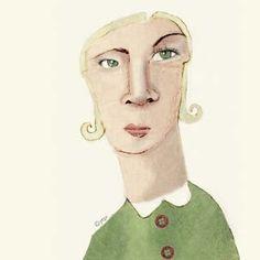 a face a day: face 124