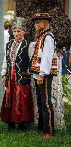 Ukrainian kozak and Hutsul, Ukraine - from Iryna