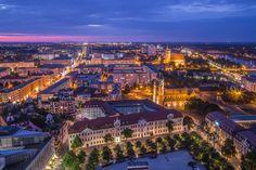 Magdeburg vom DOM von Frank Hujer
