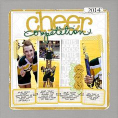 Cheer Competition by JALong