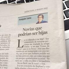 Cosas de Toton en La Vanguardia.