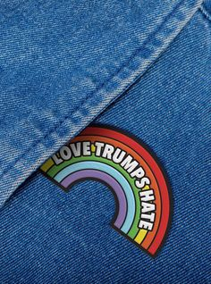 Political pins are making a comeback!